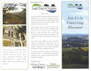 Bluemont Village Study Brochure