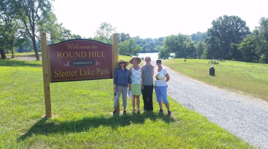 The Town of Round Hill Opens Sleeter Lake Park
