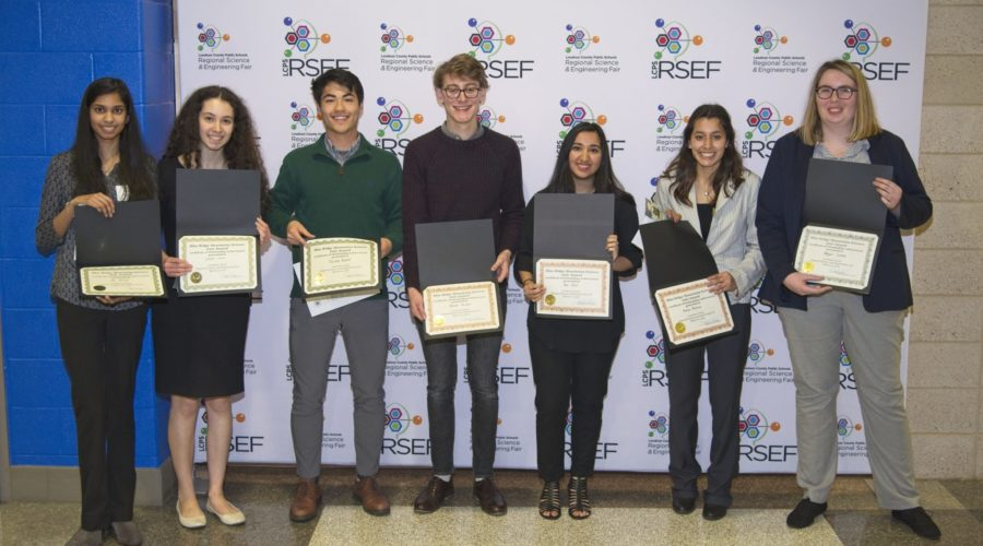 Friends Presents cash prizes to LCPS Science & Engineering Fair