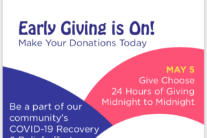 GiveChoose Early Giving Starts Today!